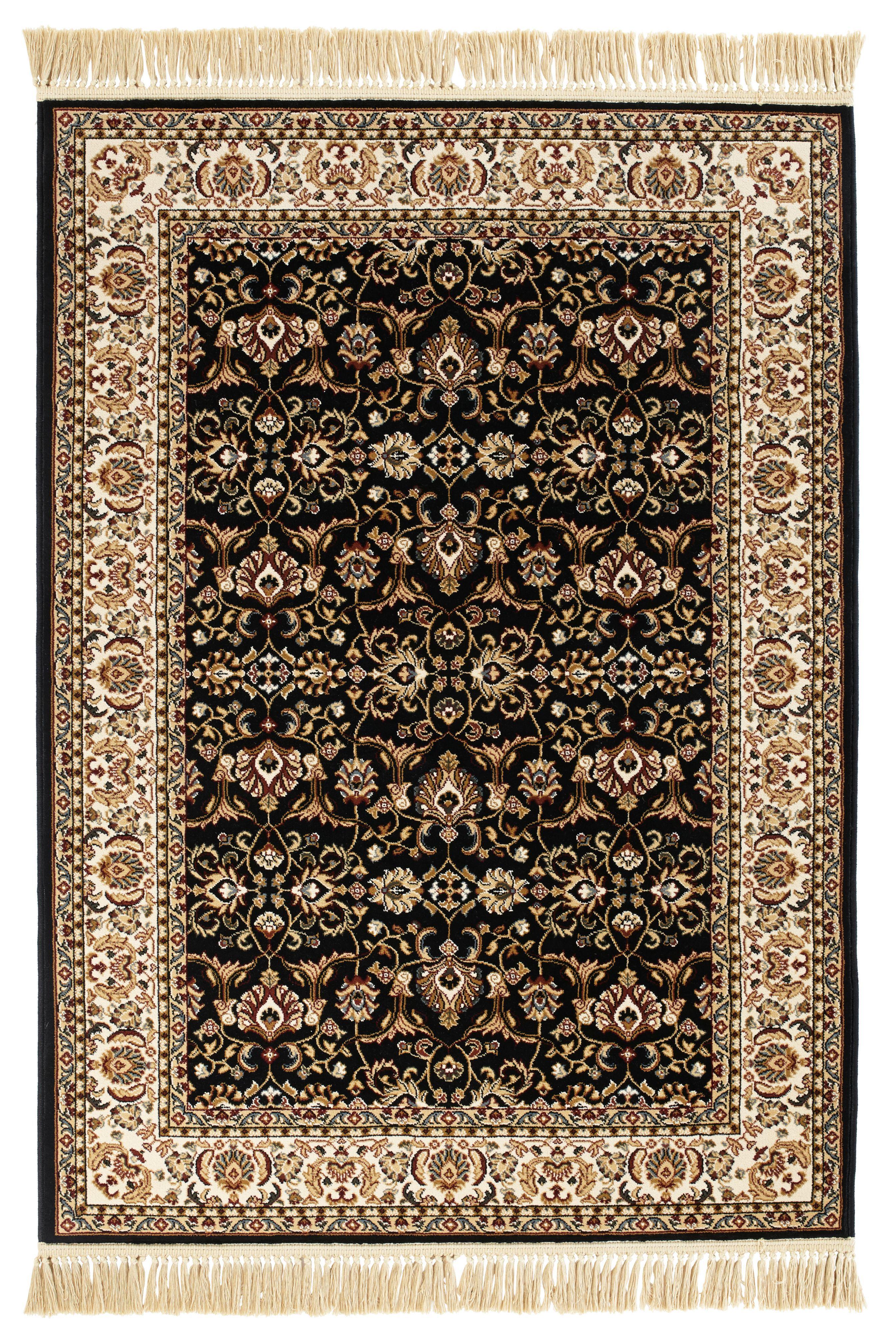 Colours Helina Beige Black Persian Rug L 2 3m W 1 6 M