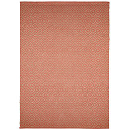Colours Georgette Coral Rug (L)2.3m (W)1.6m