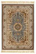 Colours Helina Beige & blue Persian Rug (L)2.3m (W)1.6 m
