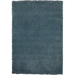 Colours Noelia Blue Rug (L)1.7m (W)1.2m