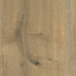 B&Q Arlington Oak Textured Wood effect Worktop edging