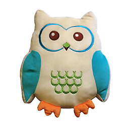 Animal Friends Owl Blue & Cream Cushion