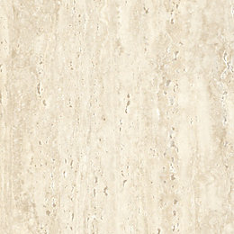 Colours Travertine Effect Self Adhesive Vinyl Tile 1.02