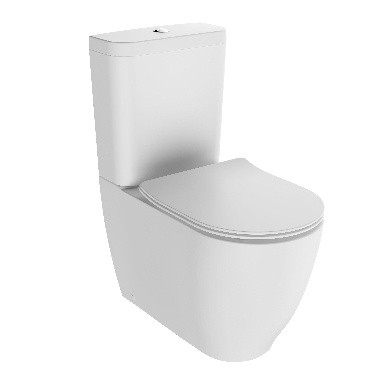 cooke lewis helena modern close coupled toilet with soft. Black Bedroom Furniture Sets. Home Design Ideas