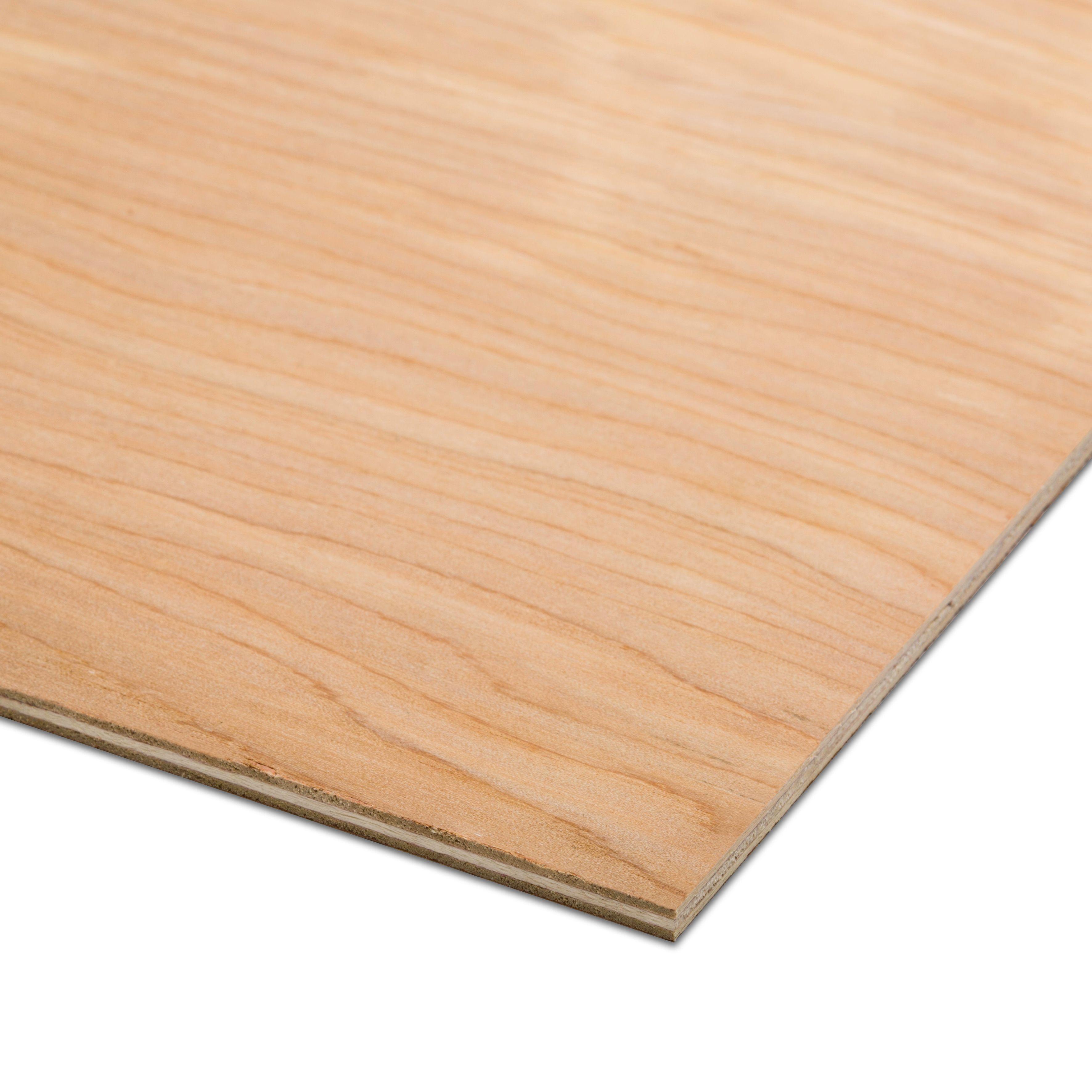 Hardwood Plywood Th 5 5mm W 1220mm L 2440mm Departments Diy At B Q