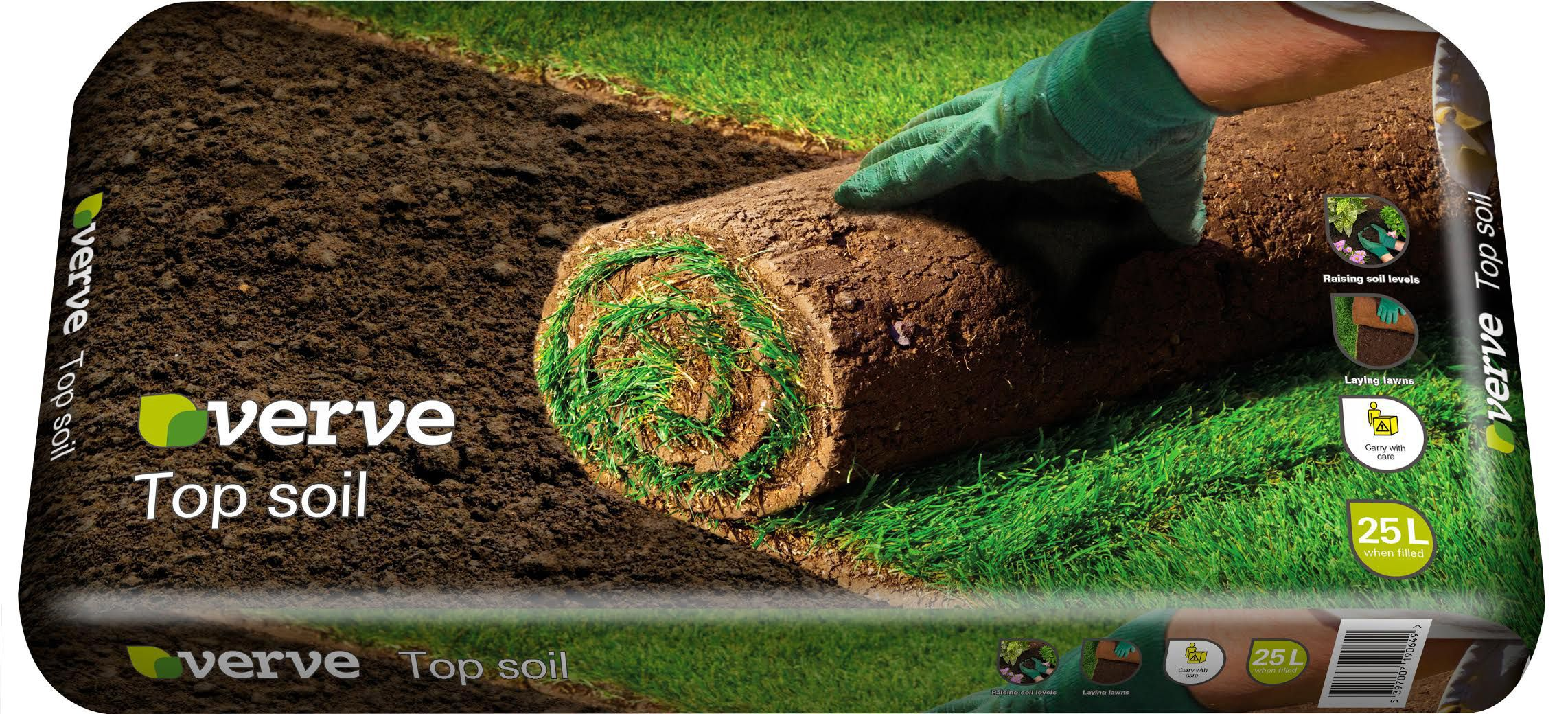 Verve Top Soil 25l Departments Tradepoint