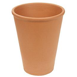 Long Tom Terracotta Pot (H)310mm (Dia)240mm