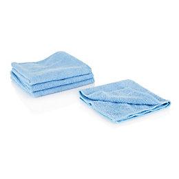 B&Q Microfibre Multi-Purpose Cloth, Pack of 4