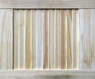 Pine Internal Louvre Door, (H)457mm (W)381mm