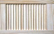 Pine Internal Louvre Door, (H)610mm (W)381mm