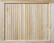 Pine Internal Louvre Door, (H)762mm (W)610mm