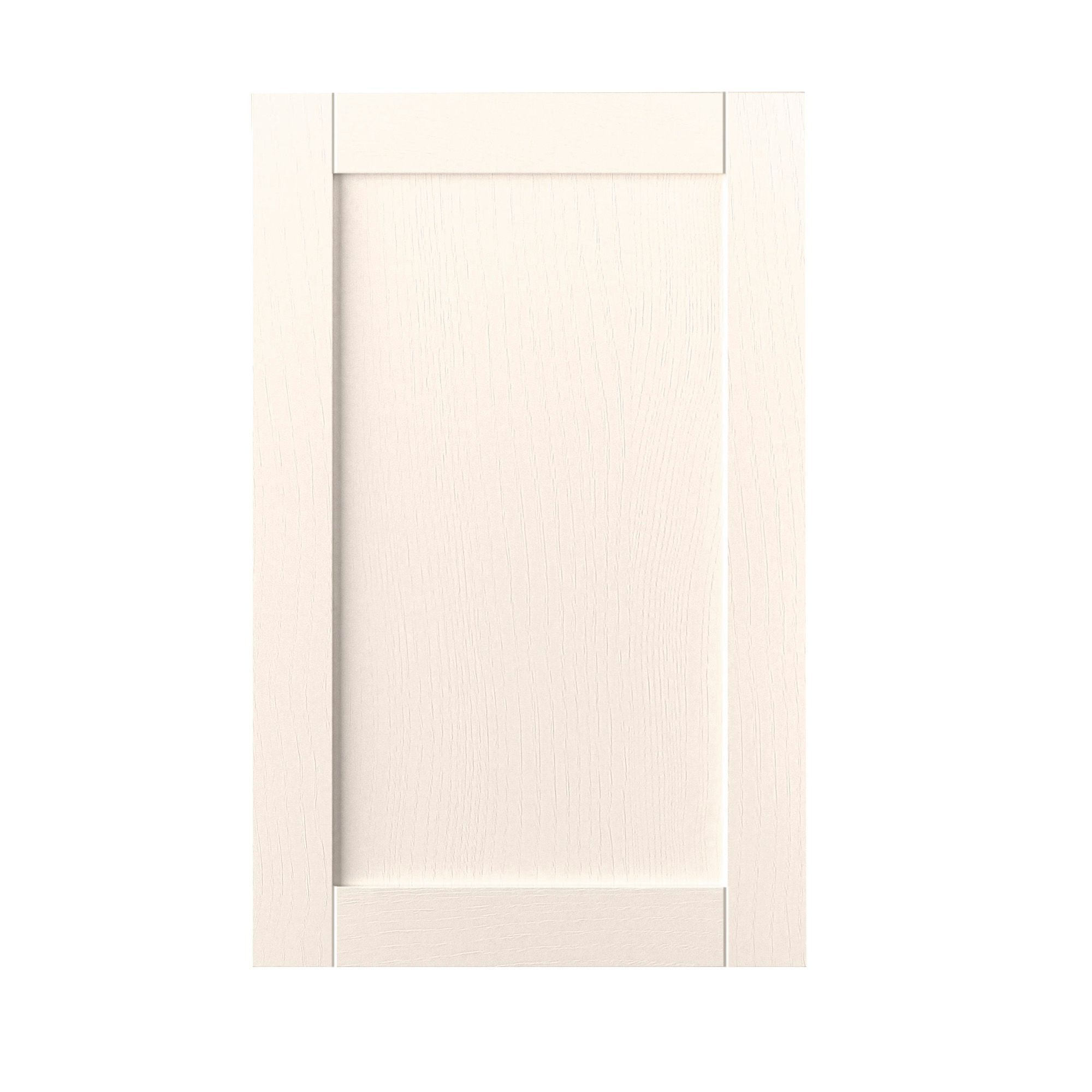It kitchens brookfield textured ivory style shaker tall for Kitchen bridging units 600mm