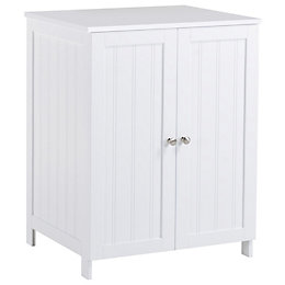 Nicolina White Vanity basin unit
