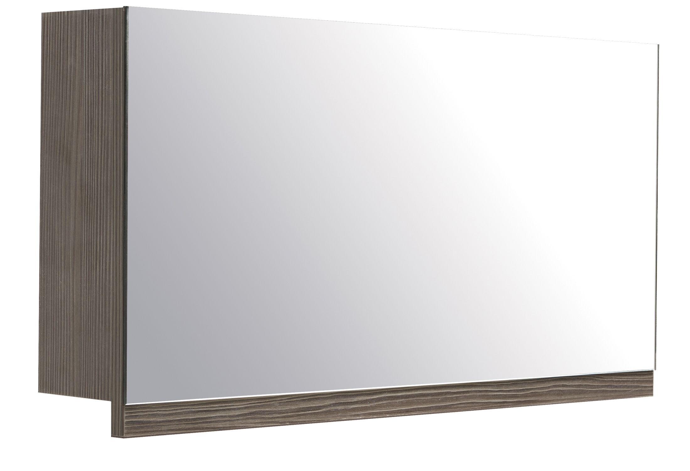 Cooke Lewis Ardesio Single Door Bodega Grey Mirror Cabinet  # Muebles Cic Bodega