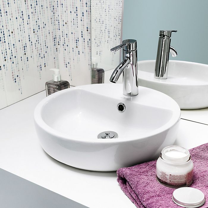 Countertop bathroom basins