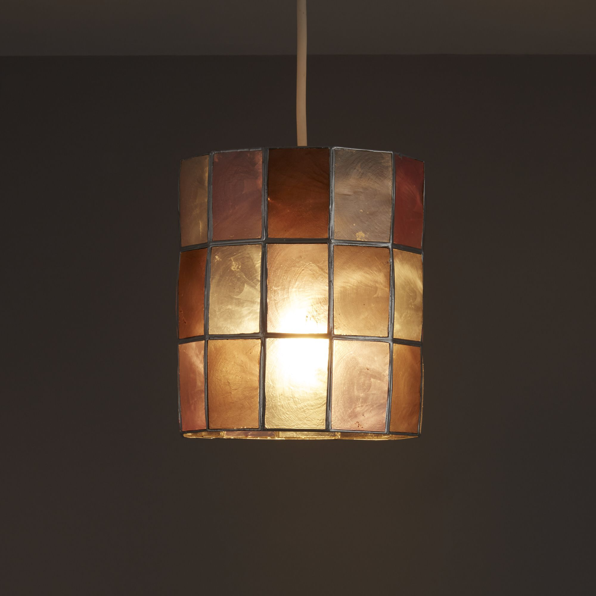 Colours Cabriole Pink Cylinder Lamp Shade (D)160mm
