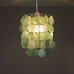 Colours Hamun Duck Egg 2 Tier Pendant Light