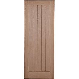 Cottage Panel Prefinished Oak Unglazed Internal Standard Door  sc 1 st  Bu0026Q & Cottage Doors | Internal Doors