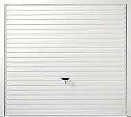 Indiana Framed Retractable Garage door, (H)1981mm (W)2134mm
