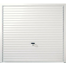 Indiana Framed Retractable Garage door, (H)2134mm (W)2134mm