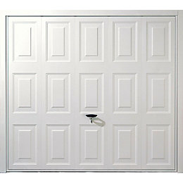 Alaska Framed Retractable Garage Door, (H)1981mm (W)2134mm