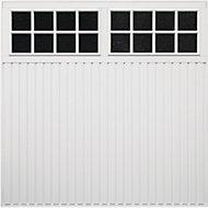 Chicago Framed Retractable Garage door, (H)2134mm (W)2438mm