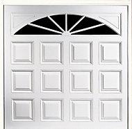 Washington Framed Retractable Garage door, (H)2134mm (W)2438mm
