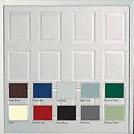 Dakota Framed Retractable Garage door, (H)2134mm (W)2438mm