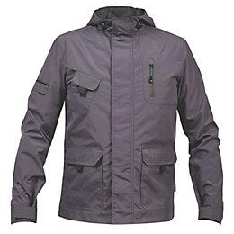 Rigour Grey Lightweight Jacket Large