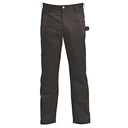"Rigour Black Work trousers W34"" L32"""