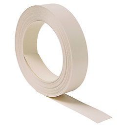 IT Kitchens Textured Ivory Edging Tape (L)10M