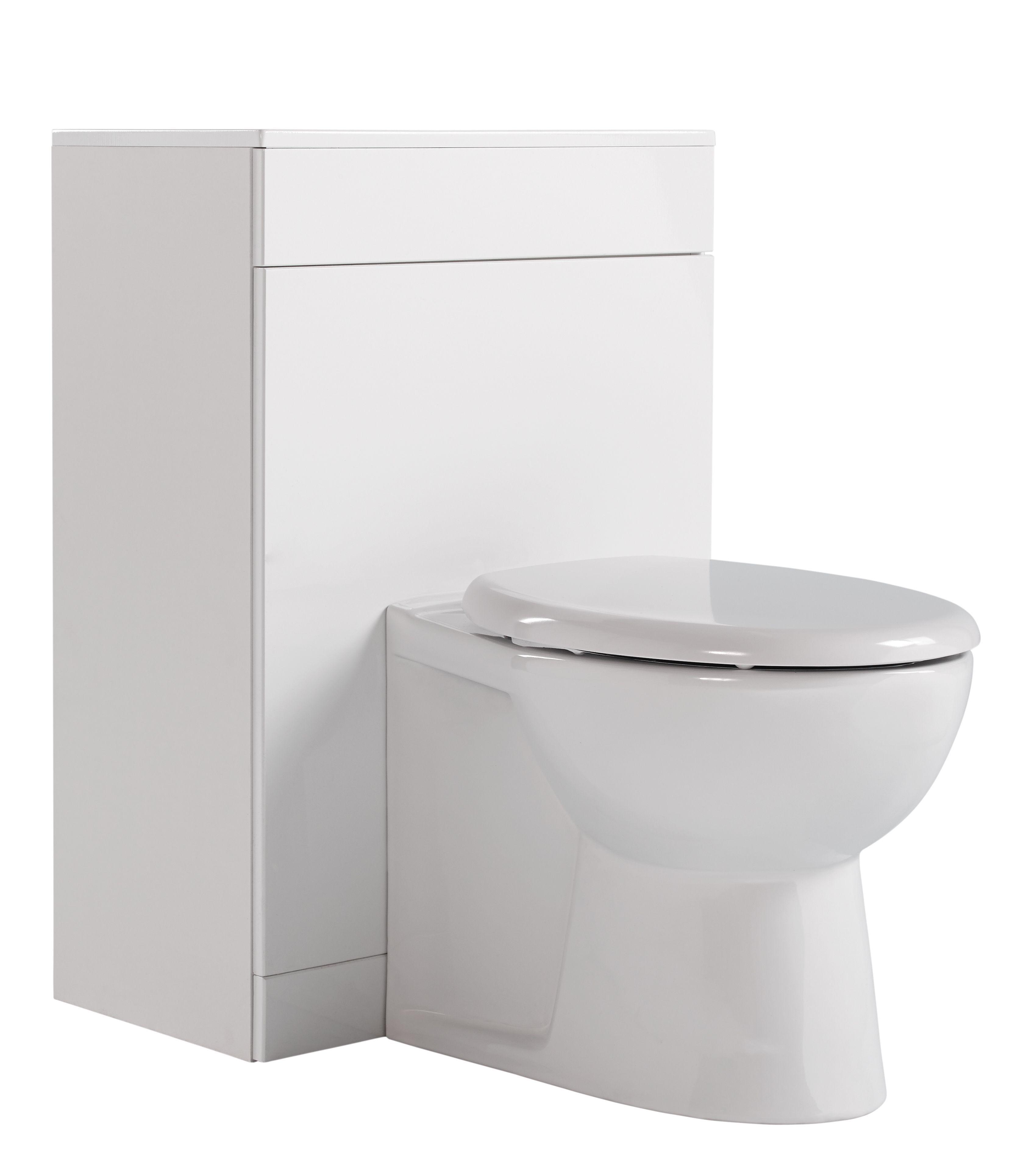 Pleasing Ardenno Gloss White Toilet Unit Wc Set Departments Diy At Bq Creativecarmelina Interior Chair Design Creativecarmelinacom