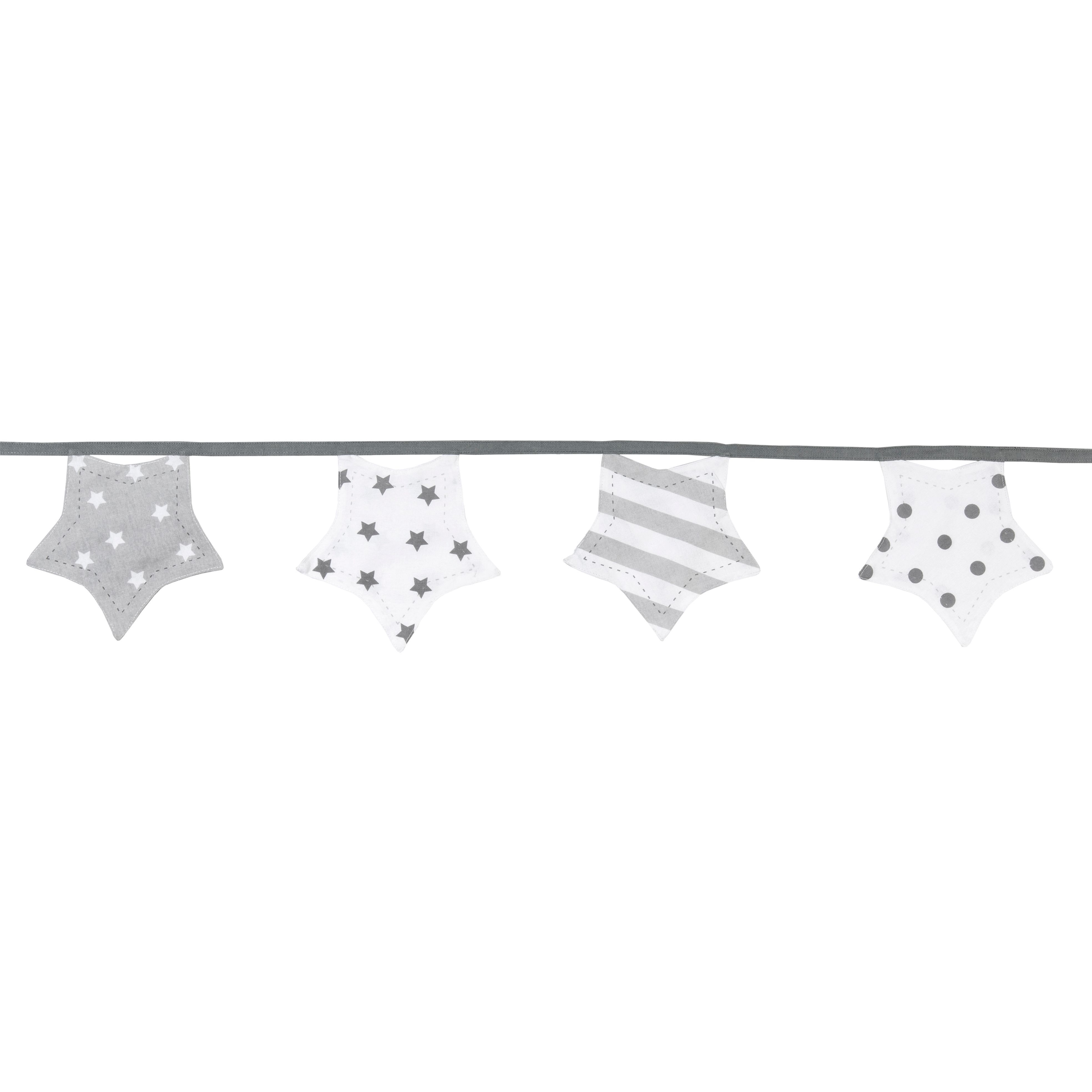Baby Colours Twinkle star Bunting, (L)3.05m