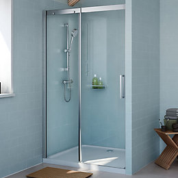 Cooke & Lewis Carmony Shower Door with Single
