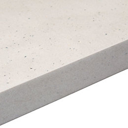 38mm Astral dove Grey Stone effect Square edge