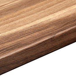 38mm Colorado Oak Laminate Wood effect Round edge