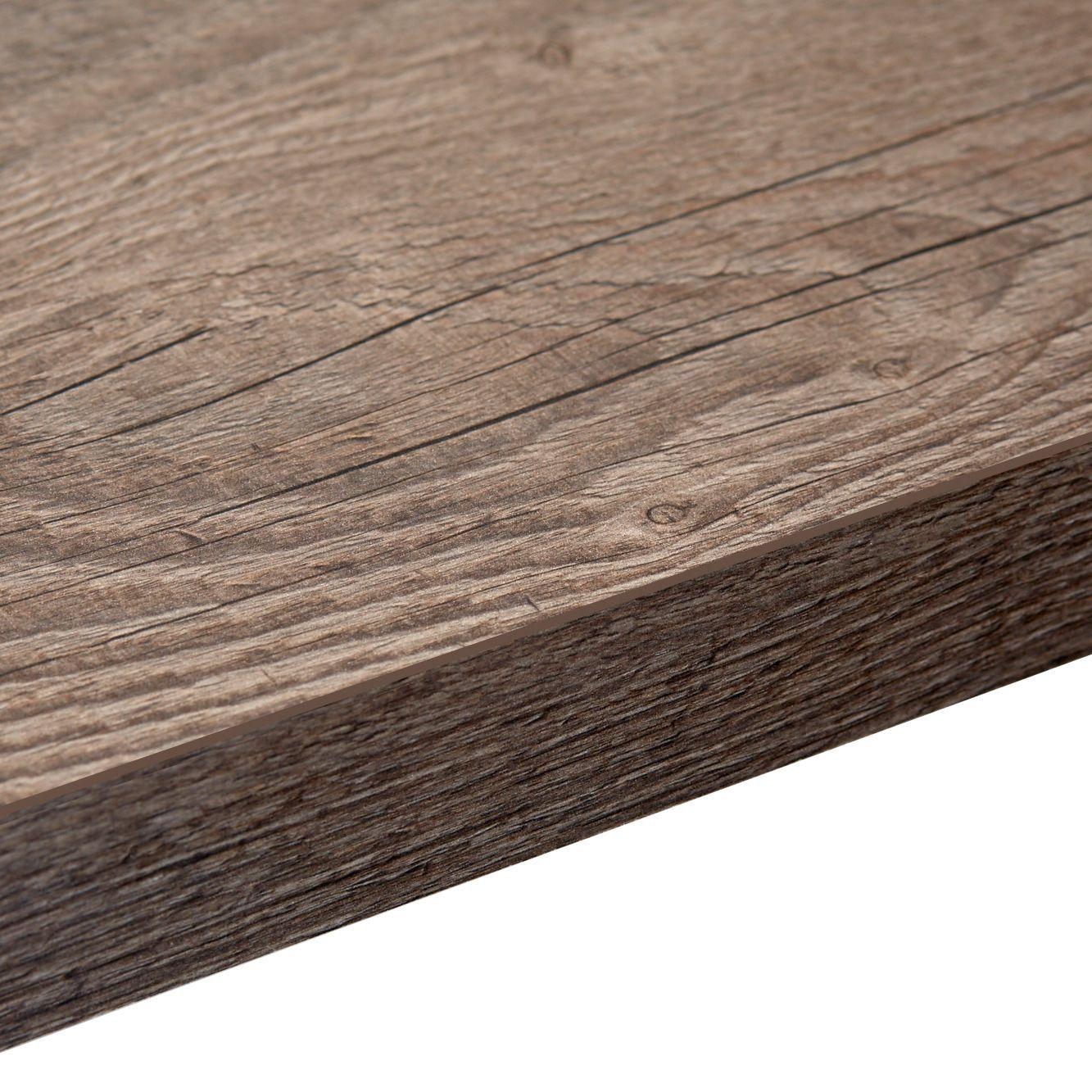 kitchen laminate worktops. 38mm B Q Mountain Timber Laminate Wood Effect Square Edge Worktop  L 3600mm D 600mm Departments DIY at