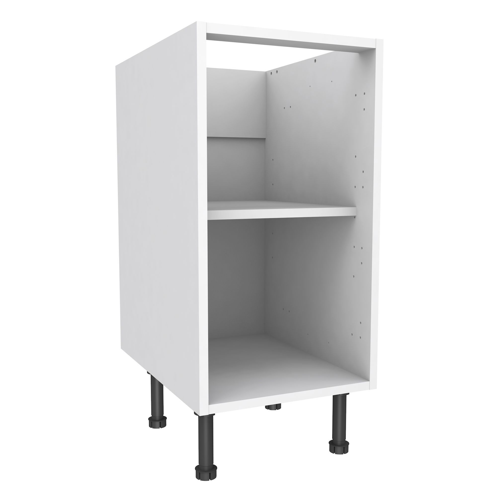 Cooke U0026 Lewis White Standard Base Cabinet (W)400mm   Departments   DIY At  Bu0026Q