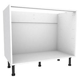Cooke & Lewis White Multi-drawer Base cabinet (W)1000mm