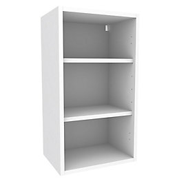 Cooke & Lewis White Standard Wall cabinet (W)400mm