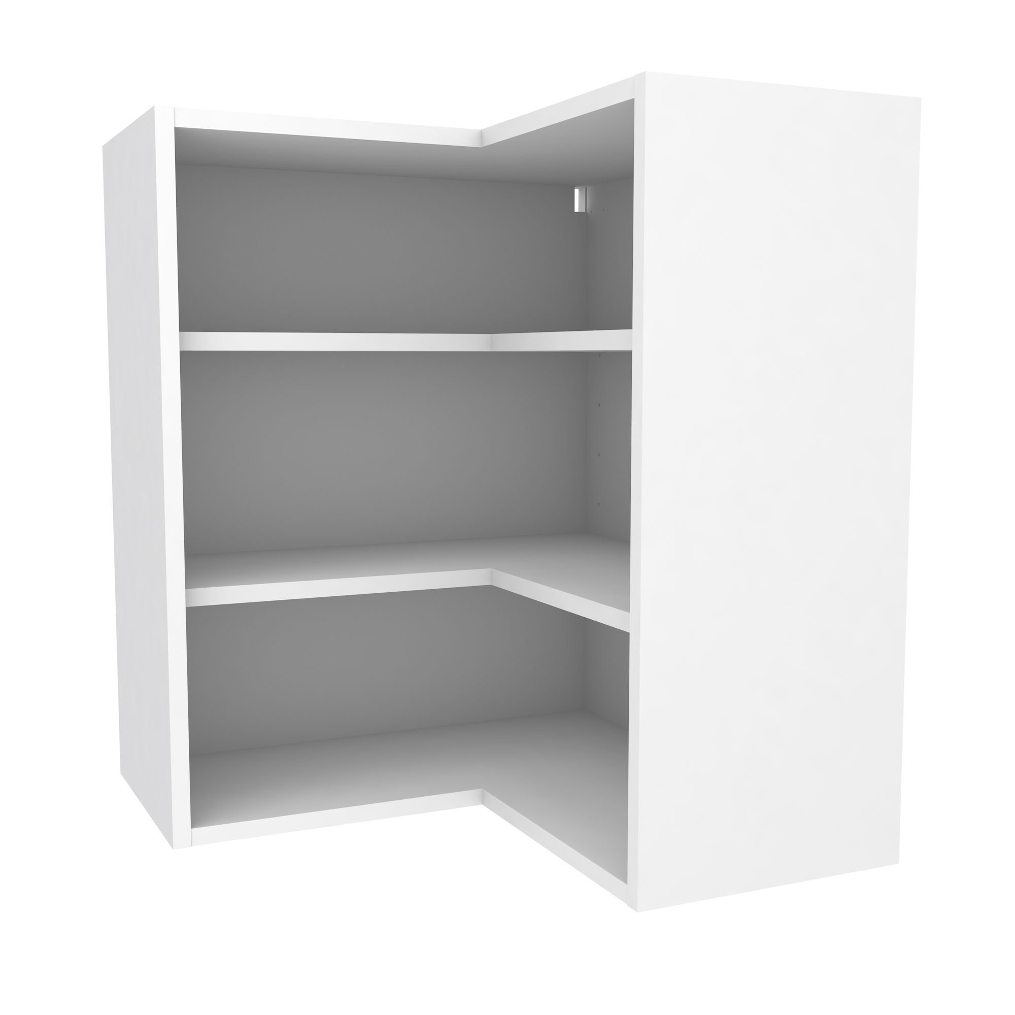 Lovely Cooke U0026 Lewis White Corner Wall Cabinet (W)625mm | Departments | DIY At Bu0026Q