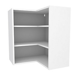 Cooke & Lewis White Corner Wall Cabinet (W)625mm