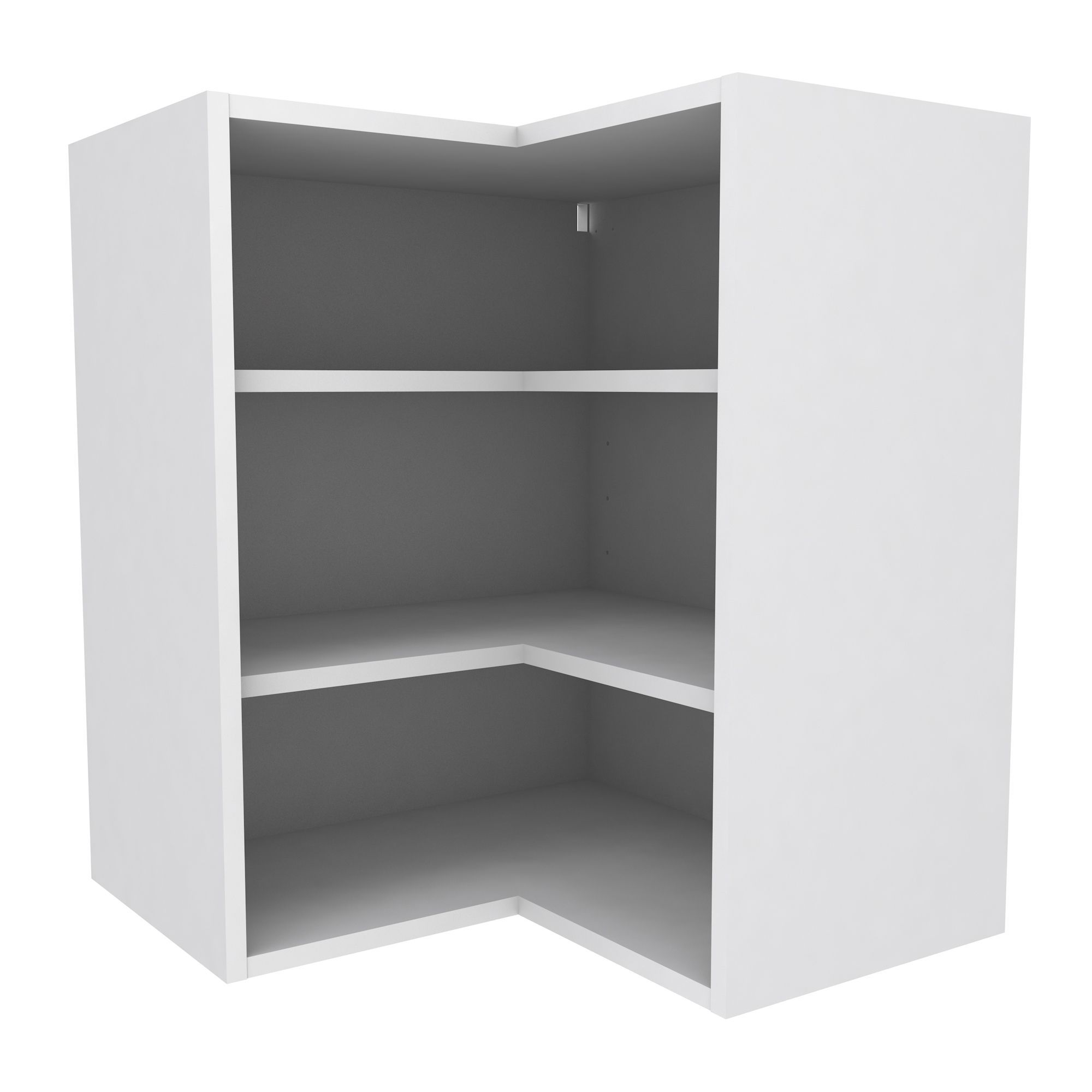White Country Kitchen B Q: Cooke & Lewis White Deep Corner Wall Cabinet (W)625mm