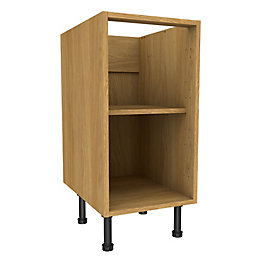 Cooke & Lewis Oak effect Standard Base cabinet