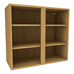 Cooke & Lewis Oak effect Deep Wall cabinet