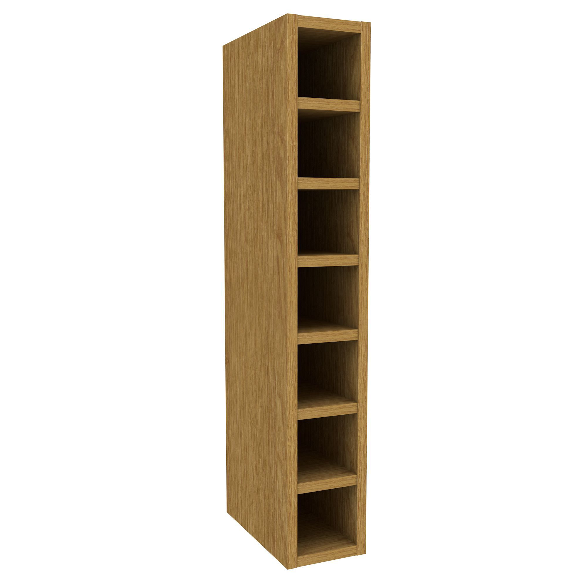 wine rack in kitchen cabinet cooke amp lewis oak effect wine rack wall cabinet w 29311