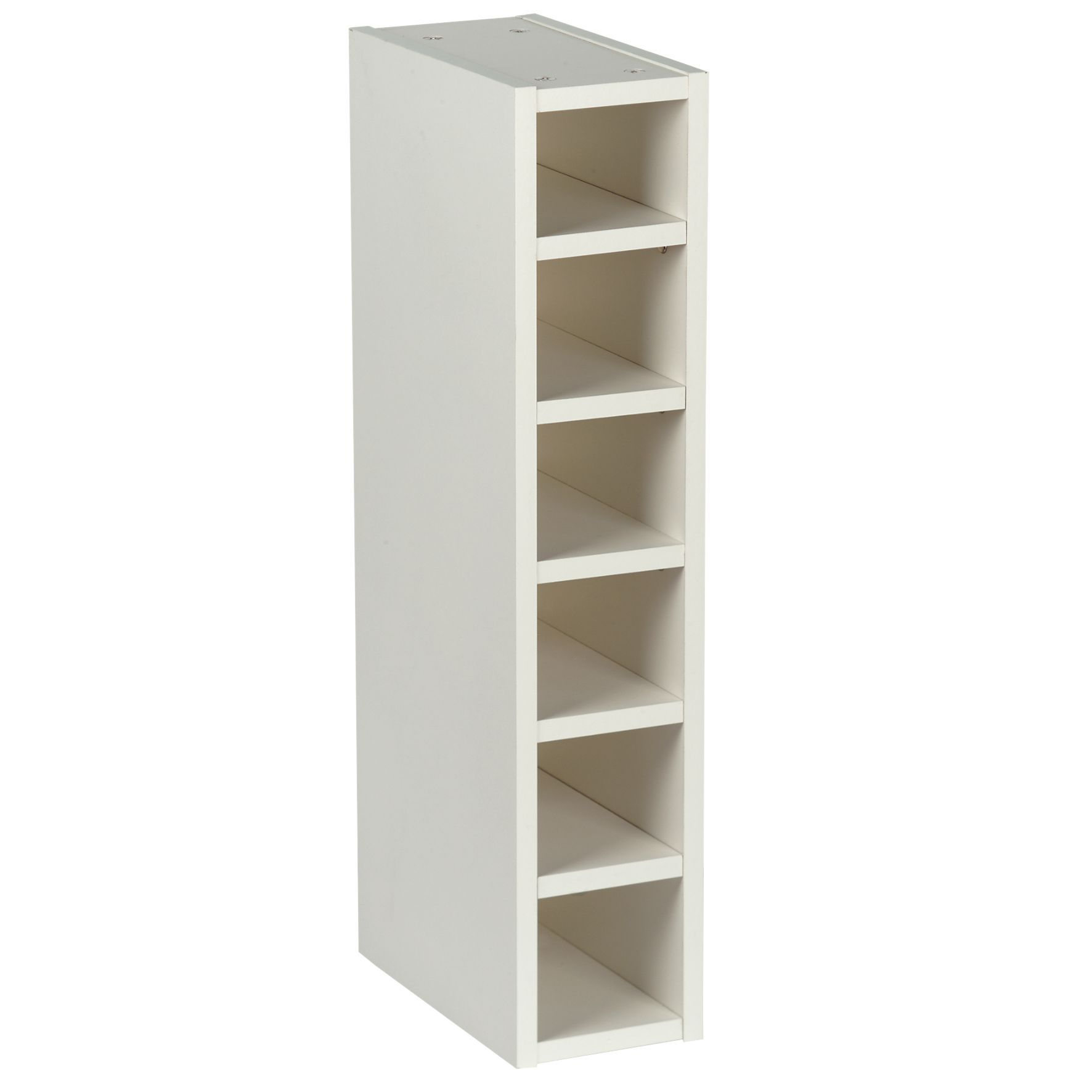 Cooke Amp Lewis White Wine Rack Wall Cabinet W 150mm