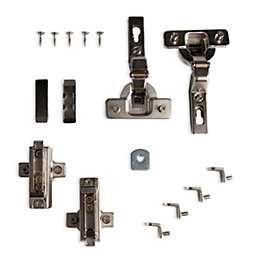 Cooke & Lewis Soft-Close 105° Framed Cabinet Hinge,