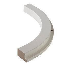 IT Kitchens Matt White Curved Internal Cornice/Pelmet