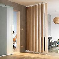 Ella White oak Room divider, Pack of 5